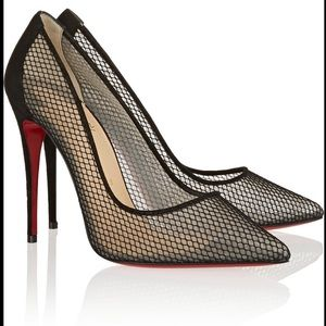 *Christian Louboutin*- Black Follies Resille